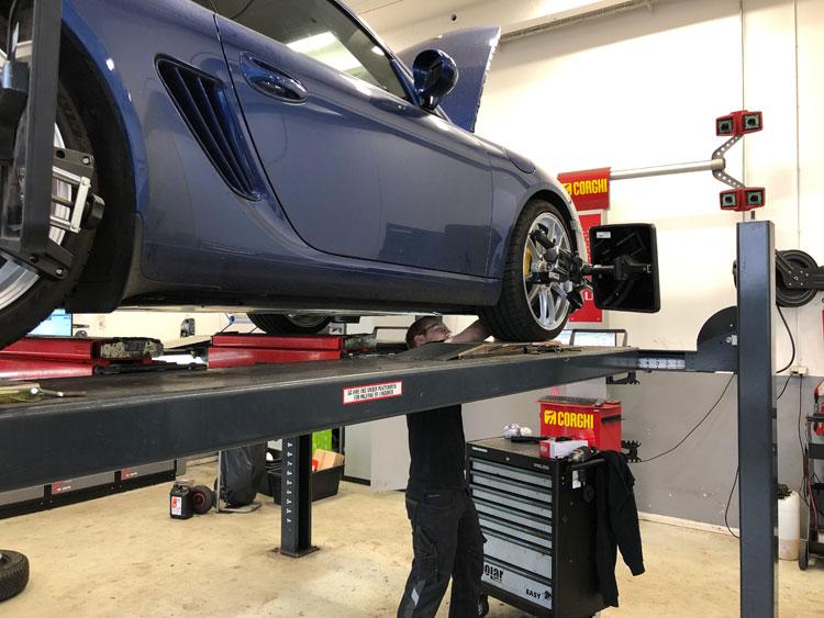 Sporing af bil - K2 Biler autoværksted i Ballerup