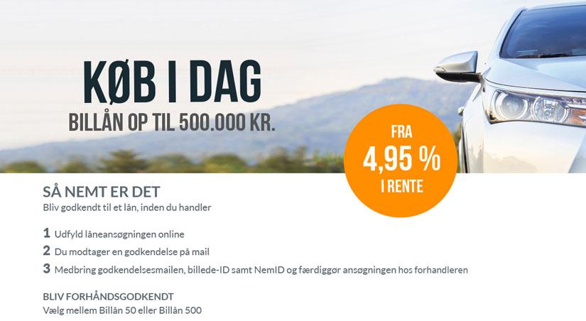 Finansiering - billån hos K2 biler - autoværksted i Ballerup