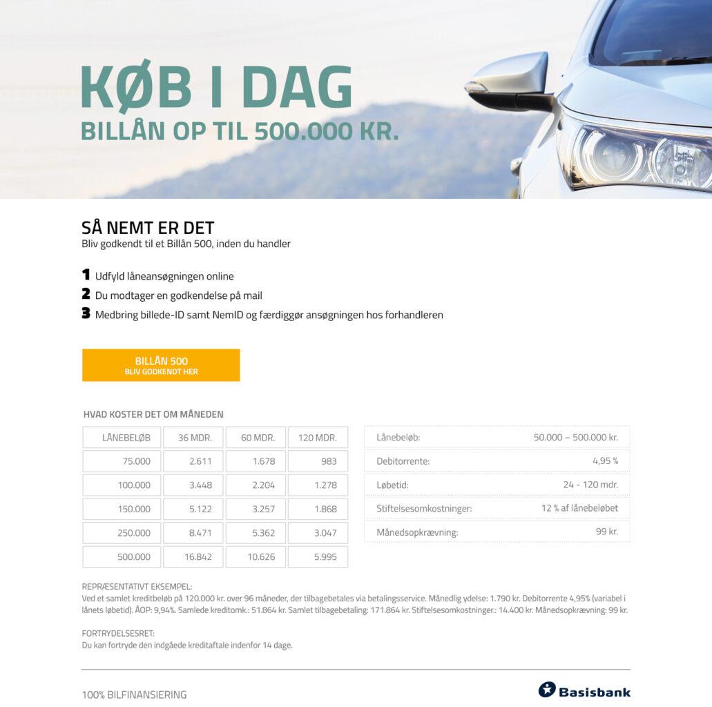 Finansiering - billån hos K2 biler